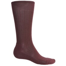 SmartWool New Classic Rib Casual Socks - Crew (For Men) in Mahogany - 2nds
