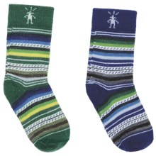 SmartWool New Friend Socks - Merino Wool 2-Pack (For Toddlers) in Royal - 2nds