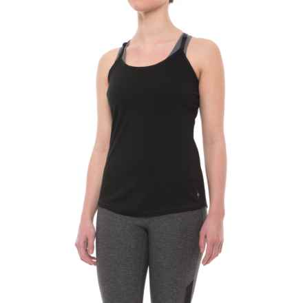 SmartWool Next-to-Skin 150 Strappy Tank Top Base Layer - Merino Wool (For Women) in Black - Closeouts