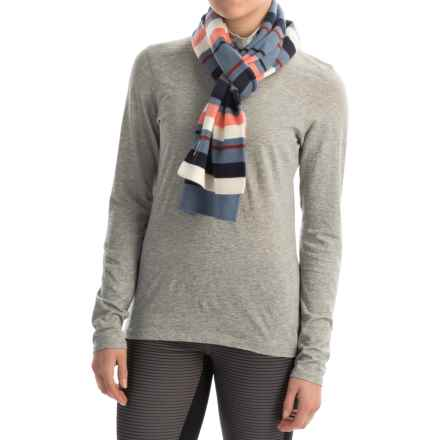 SmartWool Nokoni Scarf - Merino Wool (For Men and Women) in Blue Steel Heather - Closeouts
