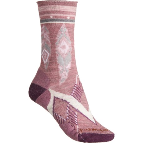 24a3fabf6 SmartWool Nostalgia Rose Feather Dream Non-Binding Socks - Merino Wool
