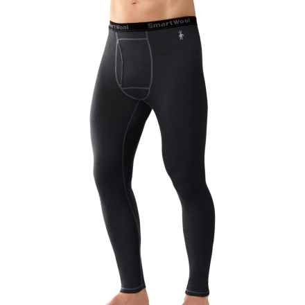 SmartWool NTS 150 Base Layer Bottoms - Merino Wool, Lightweight (For Men) in Black - Closeouts