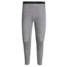 SmartWool NTS 150 Base Layer Bottoms - Merino Wool, Lightweight (For Men) in Silver Gray Heather - Closeouts