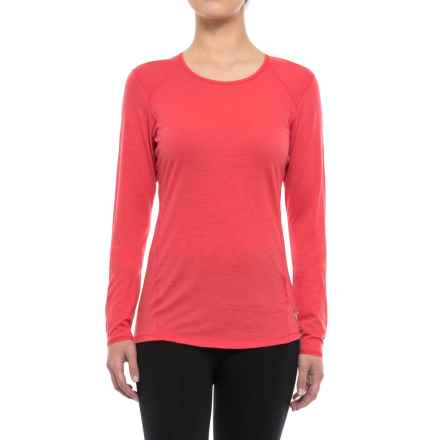 SmartWool NTS 150 Micro Base Layer Top - Merino Wool, Long Sleeve (For Women) in Hibiscus - Closeouts