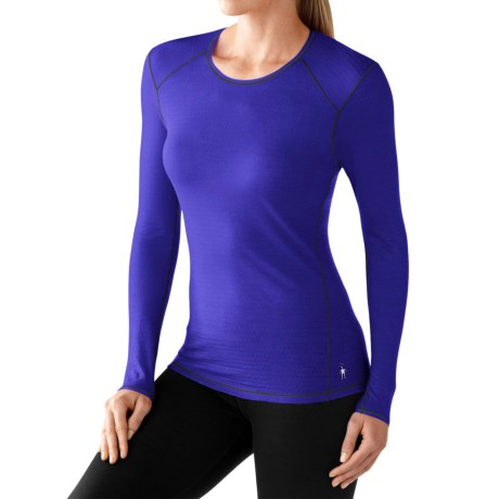 SmartWool NTS 150 Micro Base Layer Top - Merino Wool, Long Sleeve (For Women)