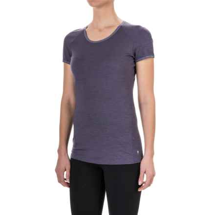 SmartWool NTS 150 Micro Base Layer Top - Merino Wool, Short Sleeve (For Women) in Desert Purple - Closeouts