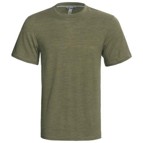 SmartWool NTS 150 Microweight Base Layer Top - Merino Wool, Short Sleeve (For Men) in Chino