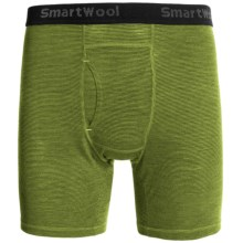 SmartWool NTS 150 Microweight Pattern Boxer Briefs (For Men) in Smartwool Green - Closeouts