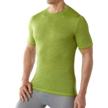 SmartWool NTS 150 Pattern Base Layer T-Shirt - Merino Wool, Short Sleeve (For Men) in Smartwool Green - Closeouts