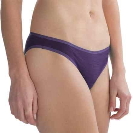 SmartWool NTS 150 Pattern Panties - Merino Wool, Bikini Briefs (For Women) in Desert Purple - Closeouts