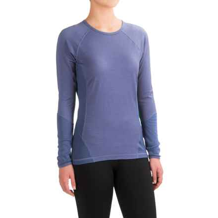 SmartWool NTS 195 Base Layer Top - Merino Wool, Long Sleeve (For Women) in Dark Polar Purple - Closeouts