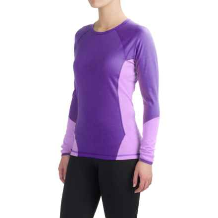 SmartWool NTS 195 Base Layer Top - Merino Wool, Long Sleeve (For Women) in Grape/Lilac - Closeouts