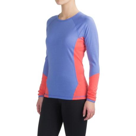 SmartWool NTS 195 Base Layer Top - Merino Wool, Long Sleeve (For Women) in Poppy