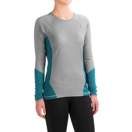 SmartWool NTS 195 Base Layer Top - Merino Wool, Long Sleeve (For Women) in Teal - Closeouts