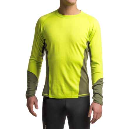 SmartWool NTS 195 Base Layer Top - Merino Wool, UPF 35, Long Sleeve (For Men) in Forest/Smartwool Green - Closeouts