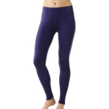 SmartWool NTS 250 Base Layer Bottoms - Merino Wool (For Women) in Imperial Purple Heather - Closeouts