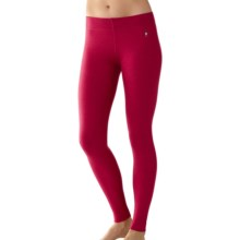 SmartWool NTS 250 Base Layer Bottoms - Merino Wool (For Women) in Persian Red Heather - Closeouts