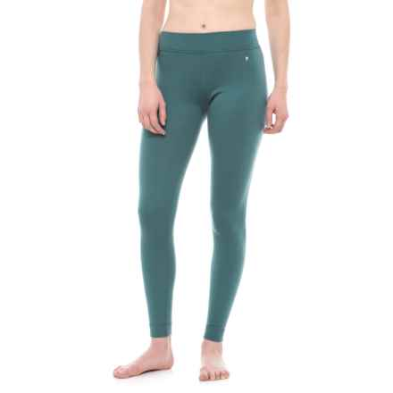 SmartWool NTS 250 Base Layer Bottoms - Merino Wool (For Women) in Sea Pine Heather - Closeouts
