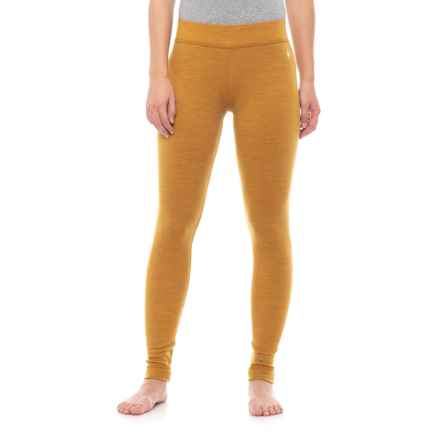 Smartwool Nts 250 Base Layer Bottoms Merino Wool For Women In Sunglow