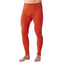 SmartWool NTS 250 Base Layer Bottoms - Merino Wool, Midweight (For Men) in Bright Orange - Closeouts