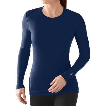 SmartWool NTS 250 Base Layer Top - Merino Wool, Crew Neck, Long Sleeve (For Women) in Indigo Heather - Closeouts
