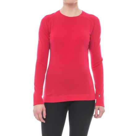 SmartWool NTS 250 Base Layer Top - Merino Wool, Crew Neck, Long Sleeve (For Women) in Punch - Closeouts