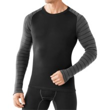 SmartWool NTS 250 Base Layer Top - Merino Wool, Long Sleeve (For Men) in Black/Charcoal - Closeouts
