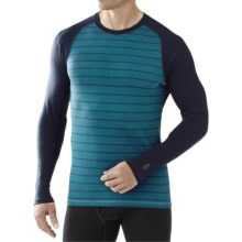 SmartWool NTS 250 Base Layer Top - Merino Wool, Long Sleeve (For Men) in Deep Sea Heather - Closeouts