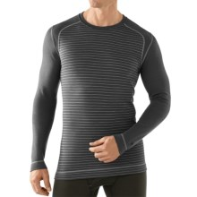 SmartWool NTS 250 Base Layer Top - Merino Wool, Long Sleeve (For Men) in Graphite - Closeouts