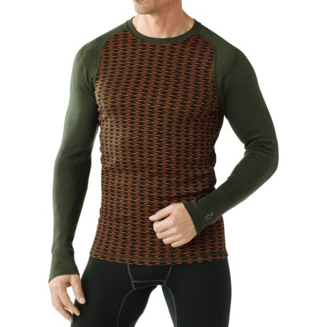 SmartWool NTS 250 Base Layer Top Merino Wool, Long Sleeve (For Men)