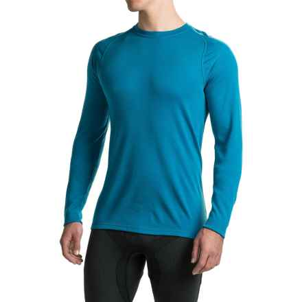 SmartWool NTS 250 Base Layer Top - Merino Wool, UPF 50+, Long Sleeve (For Men) in Arctic Blue - Closeouts
