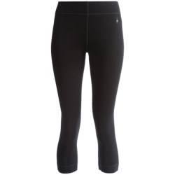 SmartWool NTS 250 Boot Top Base Layer Bottoms - Merino Wool, Midweight (For Women) in Black