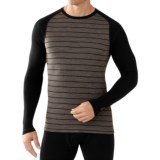 SmartWool NTS 250 Midweight Pattern Base Layer Top - Merino Wool, Long Sleeve (For Men)