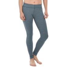 SmartWool NTS 250 Pattern Base Layer Bottoms - Merino Wool (For Women) in Clearwater - Closeouts