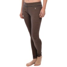 SmartWool NTS 250 Pattern Base Layer Bottoms - Merino Wool (For Women) in Sunglow Heather - Closeouts