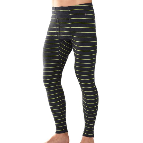 SmartWool NTS 250 Pattern Base Layer Bottoms - Merino Wool, Midweight (For Men)
