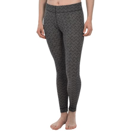 660c0431d7c9d SmartWool NTS 250 Pattern Base Layer Pants - Merino Wool (For Women) in  Black