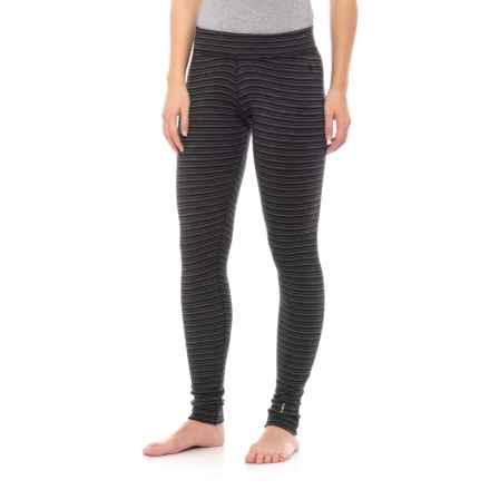 3ebb7b812e SmartWool NTS 250 Pattern Base Layer Pants - Merino Wool (For Women) in  Charcoal