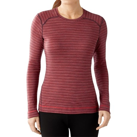 SmartWool NTS 250 Pattern Base Layer Top - Merino Wool, Crew Neck, Long Sleeve (For Women)