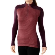 SmartWool NTS 250 Pattern Base Layer Top - Merino Wool, Zip Neck, Long Sleeve (For Women): Save 64% Off - SmartWool NTS 250 Pattern Base Layer Top - Merino Wool, Zip Neck, Long Sleeve (For Women)
