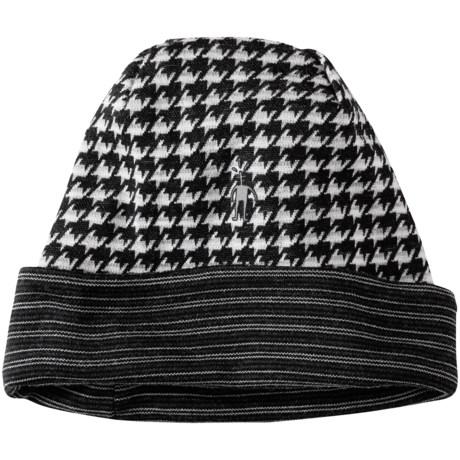 SmartWool NTS 250 Reversible Pattern Beanie - Merino Wool (For Men and Women)