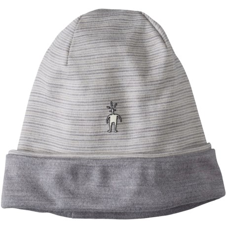 SmartWool NTS 250 Reversible Pattern Beanie - Merino Wool (For Men and Women)