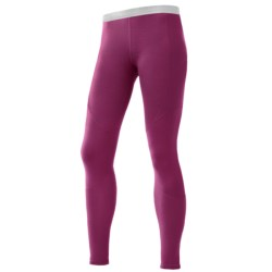 SmartWool NTS Base Layer Bottoms - Merino Wool, Lightweight (For Women) in Berry