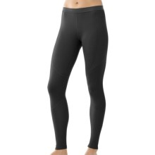 SmartWool NTS Base Layer Bottoms - Merino Wool, Lightweight (For Women) in Black - Closeouts