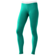 SmartWool NTS Base Layer Bottoms - Merino Wool, Lightweight (For Women) in Spearmint - Closeouts