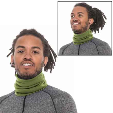 SmartWool NTS Light 195 Reversible Neck Gaiter - Merino Wool (For Men and Women) in Chino - Closeouts