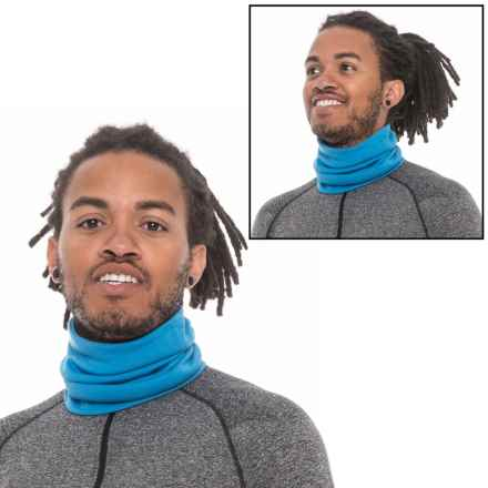 SmartWool NTS Light 195 Reversible Neck Gaiter - Merino Wool (For Men and Women) in Heritage Blue - Closeouts