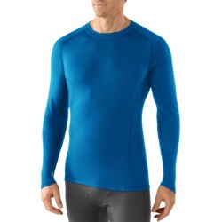 SmartWool NTS Light Base Layer Top - Merino Wool, Long Sleeve (For Men) in Arctic Blue