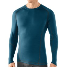 SmartWool NTS Light Base Layer Top - Merino Wool, Long Sleeve (For Men) in Deep Sea - 2nds