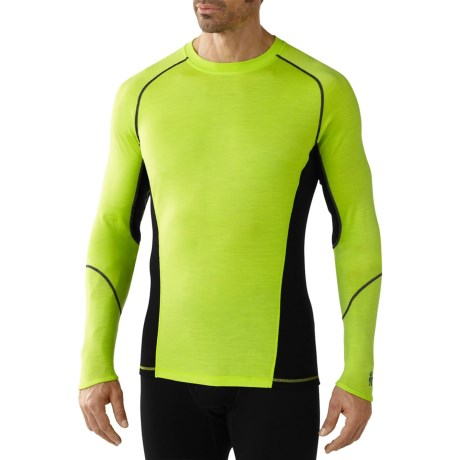 SmartWool NTS Light Base Layer Top - Merino Wool, Long Sleeve (For Men) in Smartwool Green